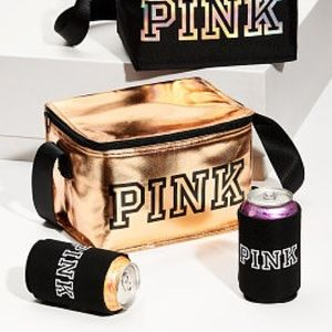 NWT✨ Victoria's Secret VS PINK Cooler Bag & Coozie